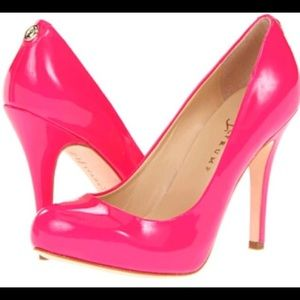 Ivanka Trump Hot Pink Pumps